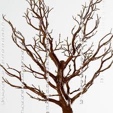 manzanita trees 30 glittered manzanita centerpiece tree for wedding event