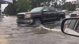 roads flood in panama city beach