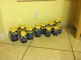 minion centerpieces my chaotic calm minion centerpieces