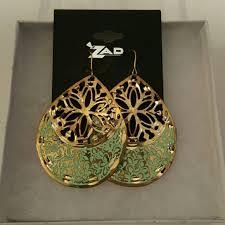 zad earrings zad jewelry earrings poshmark