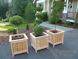 best 25 cedar planter box ideas on pinterest cedar planters