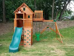 backyard discovery swing set installation assembly 63069