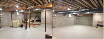 simple removing lally columns in basement home design new creative