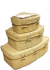 pet caskets woven bamboo pet coffins
