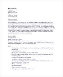 Babysitter Sample Resume by Sample Babysitter Resume 6 Examples In Word Pdf