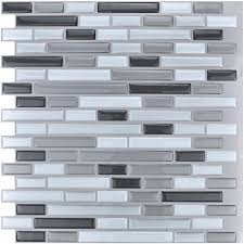 kitchen backsplash stickers art3d 12 x 12 peel and stick tile kitchen backsplash
