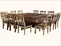 Square Dining Table And Chairs Square Dining Room Table For 12 5780