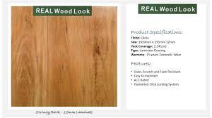 Laminate Flooring Ac3 Ecofloor Stringy Bark 12mm Laminate Price Per Square Metre