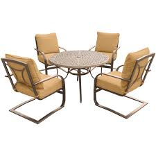 Cast Aluminum Patio Dining Furniture Patio Furniture The - Outdoor aluminum furniture