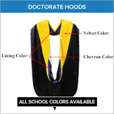 academic hoods doctoral degree products doctorate phd academic regalia gradshop