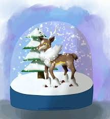 shake it snowglobe animated by mewmisaki on deviantart