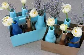 Personalized Flower Vases Diy Personalized Flower Vases The Brit U0026 Co Beer Bottle Project