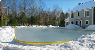 How To Build A Backyard Ice Rink by Building A Backyard Ice Rink On Unlevel Ground Backyard And Yard