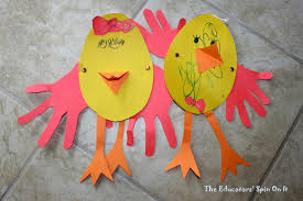 easter art projects for kindergarten students easter and spring