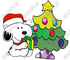 peanuts characters christmas peanuts snoopy brown iron ons