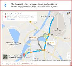 Address Map Google Map And Address Is Created For Bade Hanuman Ji Temple