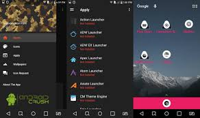 atom launcher apk best launcher themes icon packs 2017 android crush