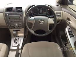 toyota corolla gas consumption toyota corolla altis 2010 e 1 8 in selangor automatic sedan white