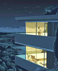 Wolf Haus Costi by Diedrica Illustrations