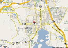 map of kissimmee map of 8 motel kissimmee orlando area kissimmee