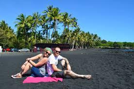 white black and green sand beaches in hawaii u2014 everywhere please