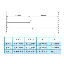 simple shower enclosures sizes 2 door quadrant enclosure 7 x and