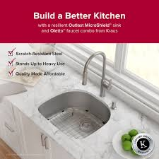 Usa Made Kitchen Faucets Stainless Steel Kitchen Sinks Kraususa Com