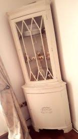 Shabby Chic Corner Cabinet by Vintage French Rustic Upcycled Shabby Chic Style Two Shelf
