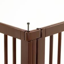 richell wooden pet room divider ebay