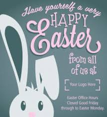 do your customers know your opening hours over easter martlette