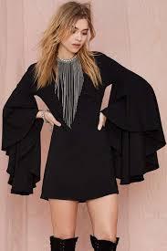 rochii casual p394 1 rochie casual cu maneci lungi tip clopot haine haine