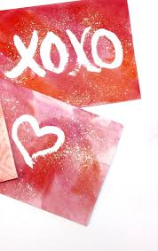 handmade watercolor cards valentines ideas diy watercolor cards diy projects