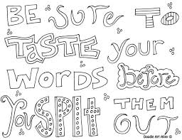 9 images free printable coloring pages sayings