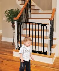 Stair Gates For Banisters Safety Gates For Stairs Design Retractable Safety Gates For