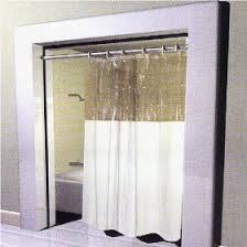Clear Vinyl Shower Curtains Designs Vinyl Shower Curtain With Clear Top Home Decor Hub