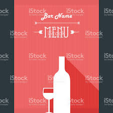 free wine list template alcohol drinks restaurant menu template wine bar background with alcohol drinks restaurant menu template wine bar background with glass royalty free stock vector