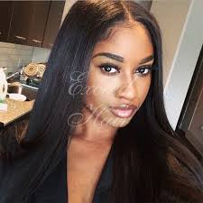 long black hair with part in the middle 194 best hair images on pinterest hairdos makeup and beleza