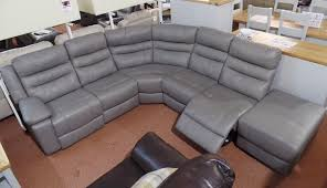 Scs Leather Corner Sofa by Half Price Furniture Warehouse