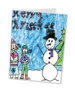 childrens personalised christmas cards kids cards 4 christmas