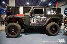 jeep rubicon 2017 2 door 2017 sema str racing jeep jk wrangler 2 door