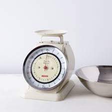 Vintage Style Kitchen Canisters Vintage Style Kitchen Scale With Removable Bowl On Food52