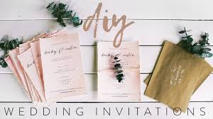 wedding invitation diy diy my wedding invitations with me