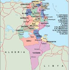 tunisia physical map tunisia political map vector eps maps eps illustrator map our