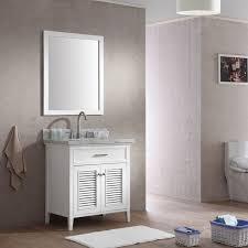 31 Bathroom Vanity by Ace Kensington 31 Inch Single Sink Bathroom Vanity Set In White Finish