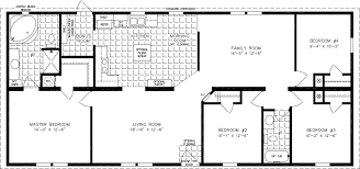 1600 Square Foot Floor Plans Floorplans For Manufactured Homes 1600 To 1799 Square Feet
