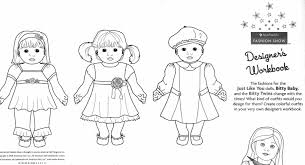 az coloring pages of dolls for kids coloring home