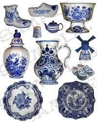 delft pottery i chose boy and windmill