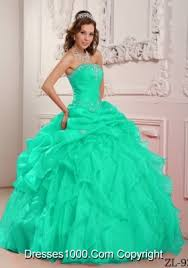 aqua green quinceanera dresses apple green strapless organza turquoise quinceanera dresses with