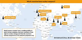 Nuclear Bomb Map Hiroshima And Nagasaki The Rise Of The Nuclear Bomb