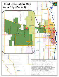 Fire Evacuation Plan For Care Homes by Zone 1 Yuba City Evacuation Map City Of Yuba City